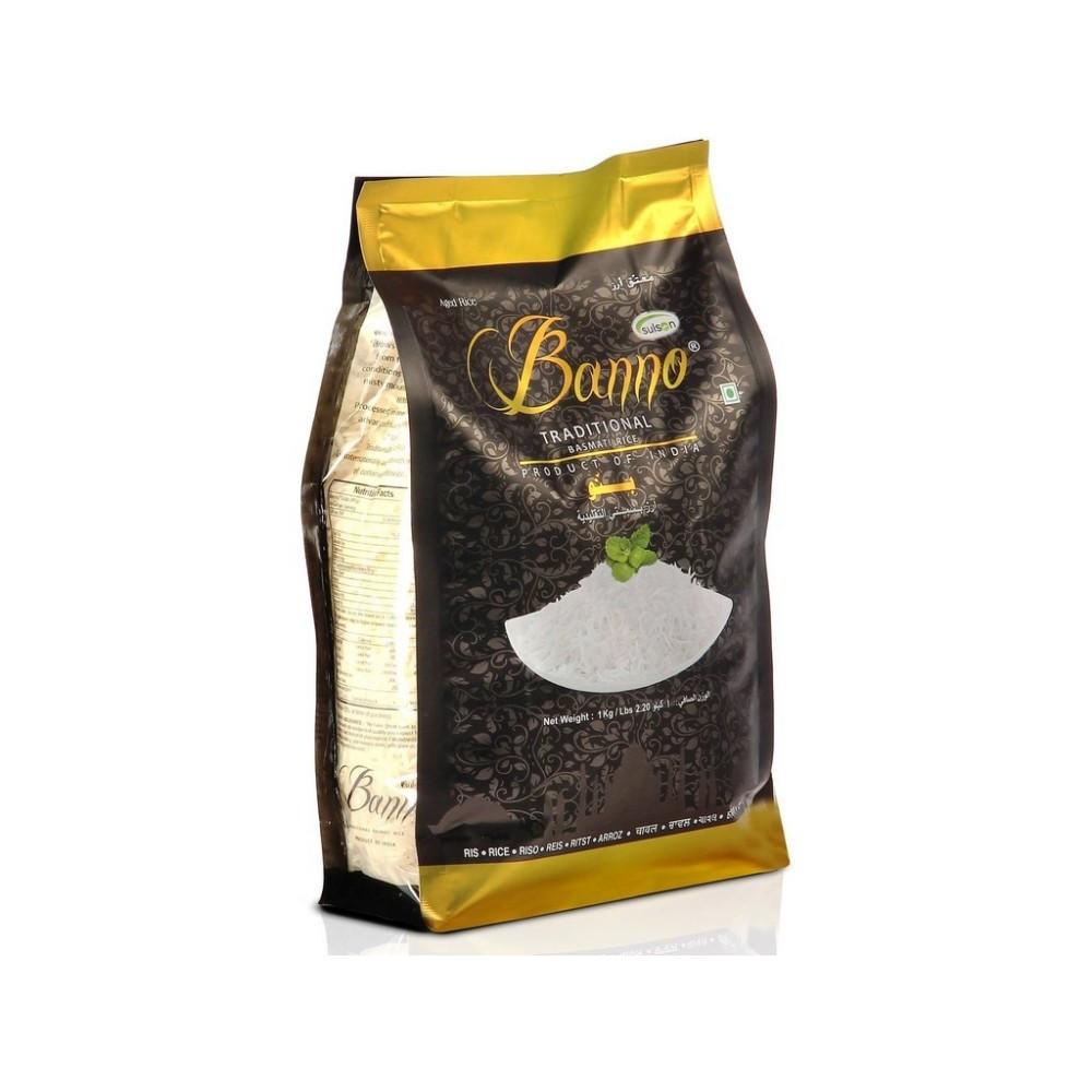 Banno Traditional Basmati Rýže 1 kg