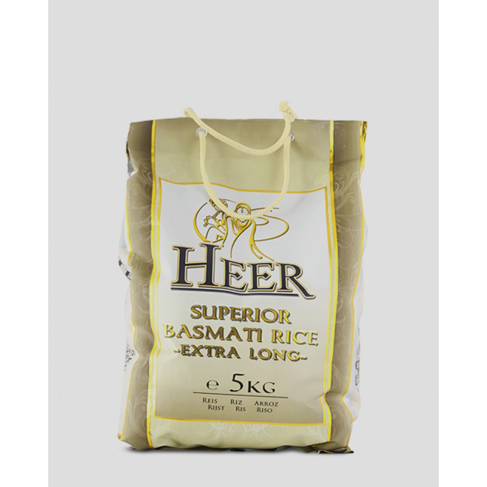 Heer superior basmati rýže extra dlouhá 5 kg