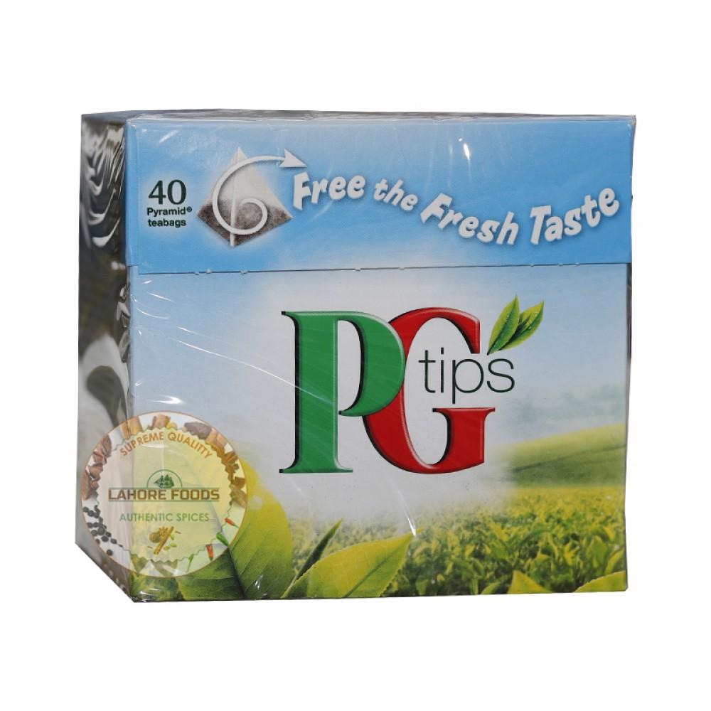 PG TIPS 40 PYRAMID TEABAGS 116g