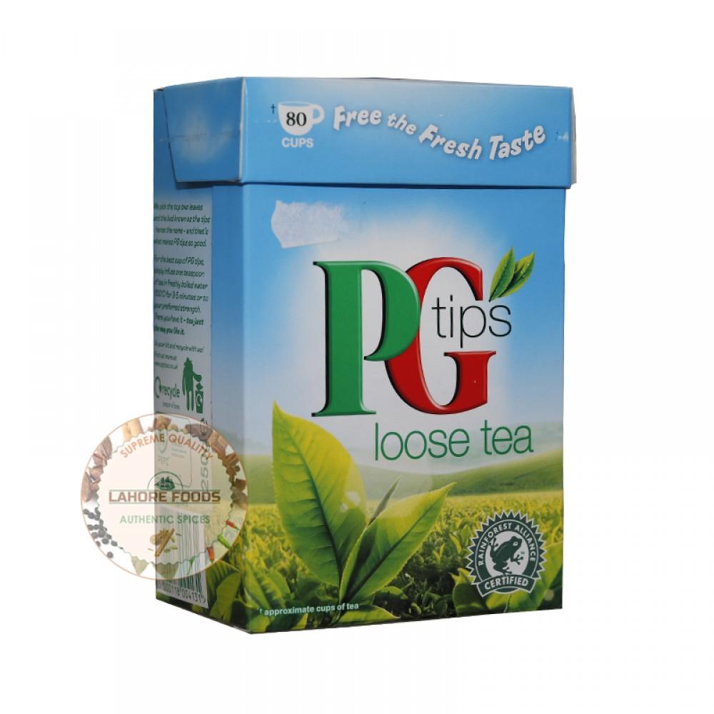 PG TIPS LOOSE TEA 80 CUPS  250g