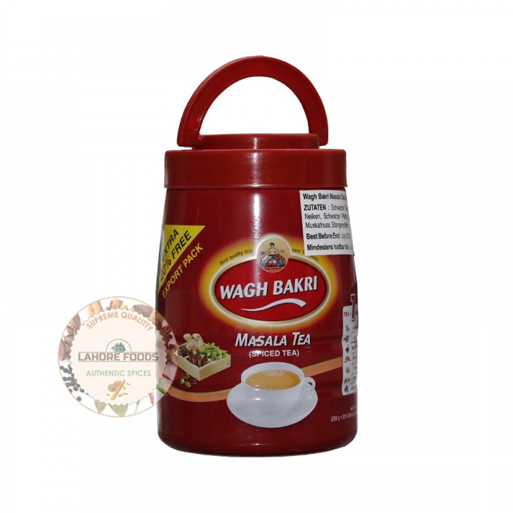 WAGH BAKRI MASALA TEA SPICED TEA 250G